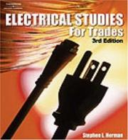 Cover of: Electrical studies for trades