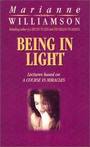 Cover of: Being In Light
