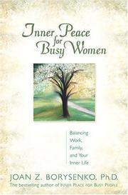 Cover of: Inner Peace For Busy Women