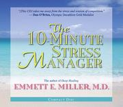 Cover of: The 10-Minute Stress Manager