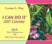Cover of: I Can Do It 2007 Calendar