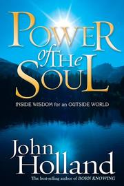 Cover of: Power of the Soul | John Holland