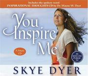 Cover of: You Inspire Me