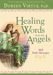 Cover of: Healing Words From The Angels | Doreen Virtue