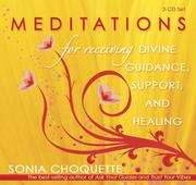 Cover of: Meditations For Receiving Divine Guidance, Support, and Healing 2-CD