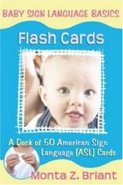 Cover of: Baby Sign Language Flash Cards
