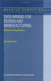 Cover of: Data Mining for Design and Manufacturing: