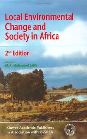Cover of: Local Environmental Change and Society in Africa