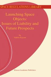 Cover of: Launching Space Objects
