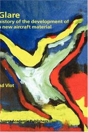 Cover of: Glare - History of the Development of a New Aircraft Material