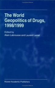Cover of: The world geopolitics of drugs, 1998/1999