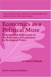 Cover of: Economics as a Political Muse