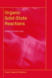 Cover of: Organic Solid-State Reactions