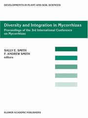 Diversity and Integration in Mycorrhizas (Developments in Plant and Soil Sciences) by