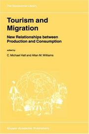 Cover of: Tourism and migration