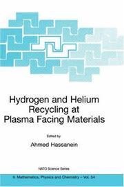 Cover of: Hydrogen and Helium Recycling at Plasma Facing Materials