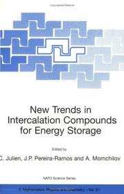 New Trends in Intercalation Compounds for Energy Storage (NATO Science Series II: Mathematics, Physics and Chemistry)