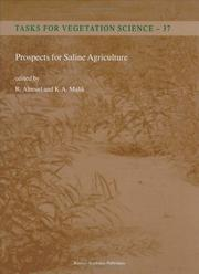 Prospects for Saline Agriculture (Tasks for Vegetation Science) by