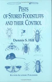 Cover of: Pests of Stored Foodstuffs and their Control
