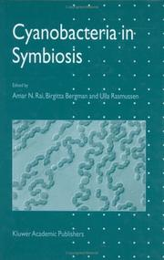 Cover of: Cyanobacteria in symbiosis |
