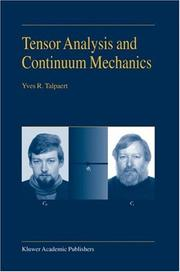 Cover of: Tensor Analysis and Continuum Mechanics