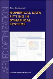 Cover of: Numerical Data Fitting in Dynamical Systems | Klaus Schittkowski