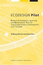 Cover of: ECODESIGN Pilot | Wolfgang Wimmer