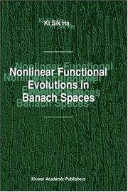 Cover of: Nonlinear functional evolutions in Banach spaces