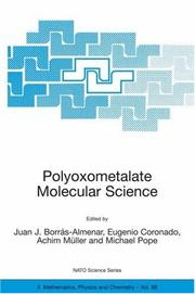 Cover of: Polyoxometalate Molecular Science (NATO Science Series II: Mathematics, Physics and Chemistry) |