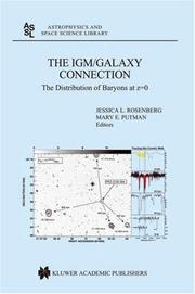 Cover of: The IGM/galaxy connection |
