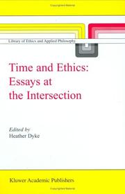 Cover of: Time and Ethics