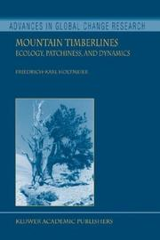 Cover of: Mountain Timberlines