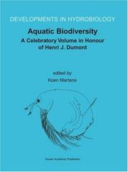 Cover of: Aquatic Biodiversity