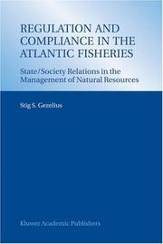 Cover of: Regulation and compliance in the Atlantic fisheries
