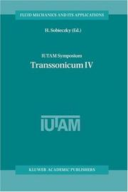 Cover of: IUTAM Symposium Transsonicum IV (Fluid Mechanics and Its Applications)