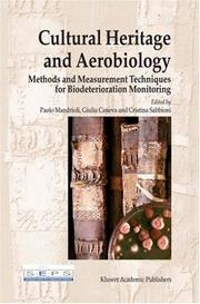 Cover of: Cultural Heritage and Aerobiology |