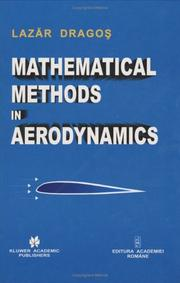 Cover of: Mathematical Methods in Aerodynamics