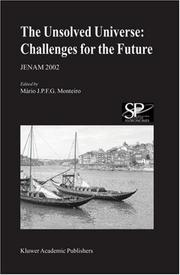 Cover of: The Unsolved Universe: Challenges for the Future