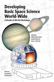 Cover of: Developing Basic Space Science World-Wide |