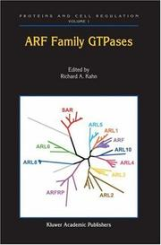 Cover of: ARF Family GTPases (Proteins and Cell Regulation)
