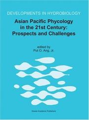 Cover of: Asian Pacific Phycology in the 21st Century | Put O. Ang Jr.