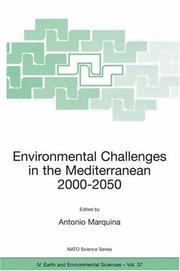 Cover of: Environmental Challenges in the Mediterranean 2000-2050
