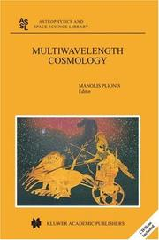 Cover of: Multiwavelength Cosmology