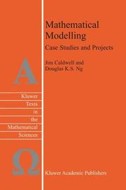 Cover of: Mathematical modelling |