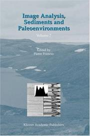 Cover of: Image Analysis, Sediments and Paleoenvironments (Developments in Paleoenvironmental Research)