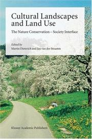 Cover of: Cultural landscapes and land use |
