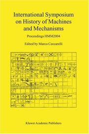 Cover of: International Symposium on History of Machines and Mechanisms (Hmm Symposium)