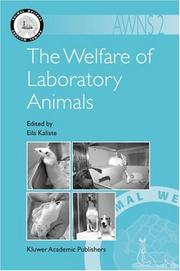 Cover of: The Welfare of Laboratory Animals (Animal Welfare)