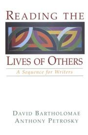 Cover of: Reading the lives of others |