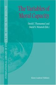 Cover of: The variables of moral capacity